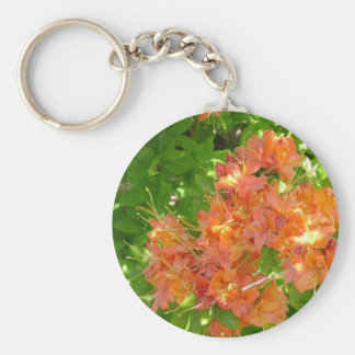 Azaleas Blooming in the Great Smoky Mountains Keychain