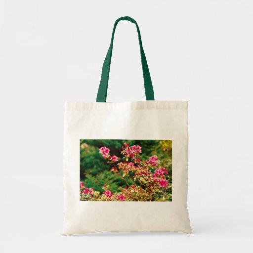 Azaleas blooming tote bag