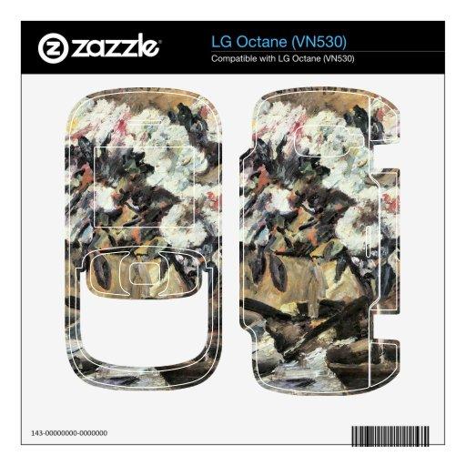 Azaleas by Lovis Corinth LG Octane Skin