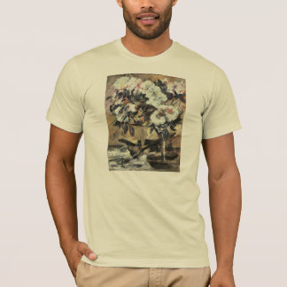 Azaleas by Lovis Corinth T-Shirt