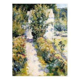 Azaleas de John Henry Twachtman- Postales