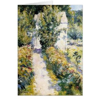 Azaleas de John Henry Twachtman- Tarjeta De Felicitación