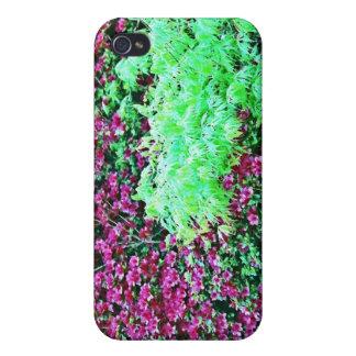 Azaleas de las rosas fuertes y el jardín de Monet  iPhone 4 Protector