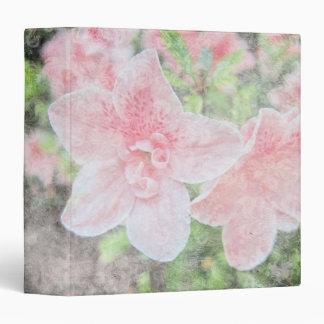 "Azaleas descoloradas 1,5"" álbum de foto carpeta 1 1/2"""