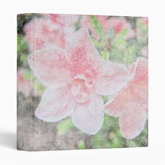 "Azaleas descoloradas 1"" álbum de foto carpeta 1"""