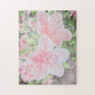 Azaleas descoloradas puzzle