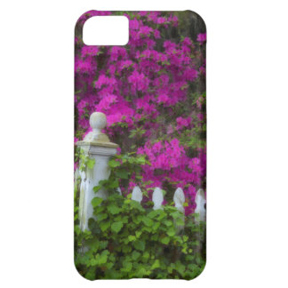 Azaleas in the spring at Historic Isle of Hope iPhone 5C Cover