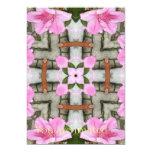 Azaleas rosadas 1E kaleidoscope10 Invitación 12,7 X 17,8 Cm