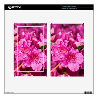 Azaleas rosadas kindle fire pegatinas skins