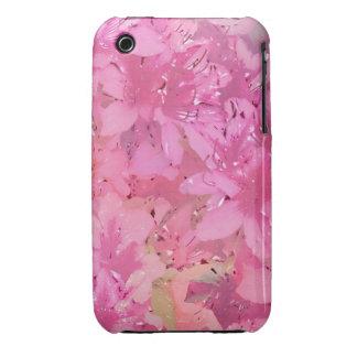 Azaleas sedosas iPhone 3 protector