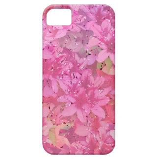 Azaleas sedosas iPhone 5 fundas