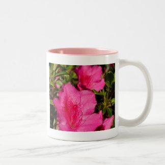 Azaleas Two-Tone Coffee Mug