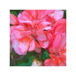 Azaléias cor de Rosa Canvas Print