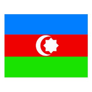 Azarbaijan Flag Set Postcard