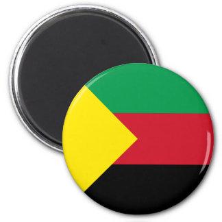 Azawad Flag 2 Inch Round Magnet