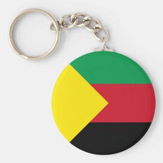 Azawad Flag Basic Round Button Keychain
