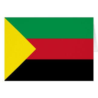 Azawad Flag Card