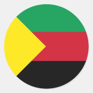 Azawad Flag Classic Round Sticker
