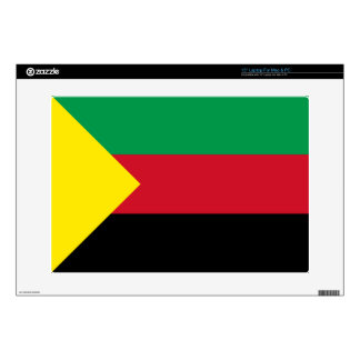 "Azawad Flag Decals For 15"" Laptops"