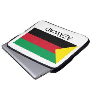 Azawad Flag Laptop Sleeve