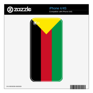 Azawad Flag Skin For iPhone 4S