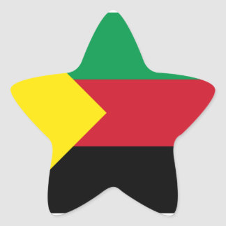Azawad Flag Star Sticker