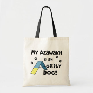 Azawakh Agility Dog Canvas Bag