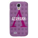 Azawakh Breed Monogram Samsung S4 Case
