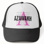 Azawakh Breed Monogram Trucker Hat