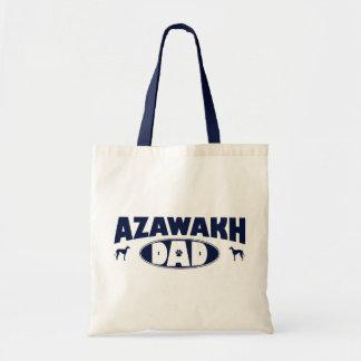 Azawakh Dad Canvas Bags