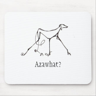 Azawakh Mousepad Design by David Moore