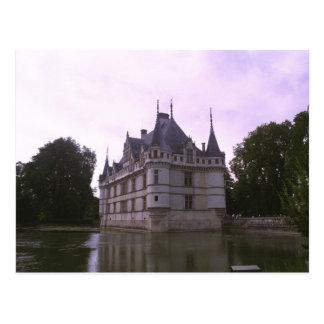 Azay-le-Rideau Castle, Indre-et-Loire, France Postcard