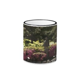 Azeleas with lantern mugs