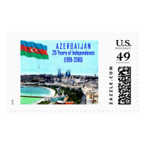 Azerbaijan 25th Anniversary of Independence Postage