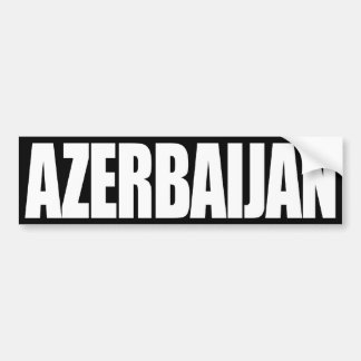 Azerbaijan Pegatina Para Auto