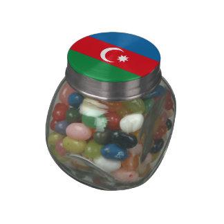 Azerbaijan Glass Candy Jars