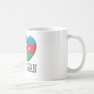 Azerbaijan Classic White Coffee Mug