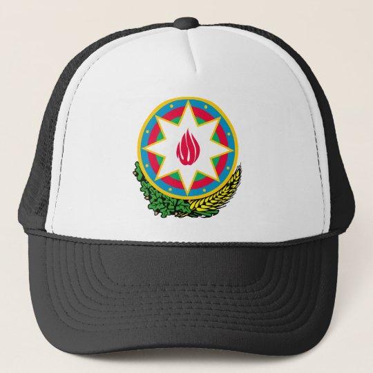 Azerbaijan coat of arms trucker hat
