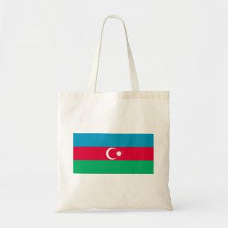 Azerbaijan Flag Canvas Bags