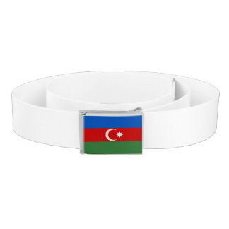 Azerbaijan Flag Belt