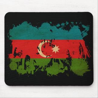 Azerbaijan Flag Mouse Pad