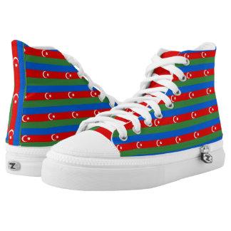 Azerbaijan Flag -.png High-Top Sneakers