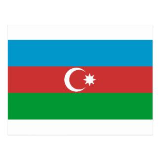 Azerbaijan Flag Post Cards