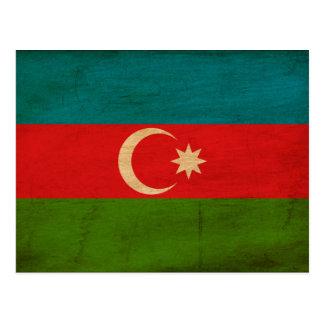Azerbaijan Flag Postcard