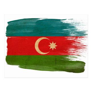 Azerbaijan Flag Postcards