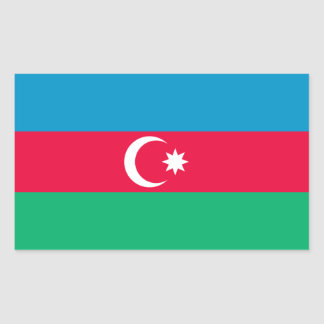 Azerbaijan Flag Sticker
