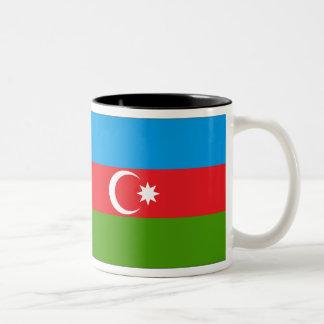 Azerbaijan Flag Two-Tone Coffee Mug