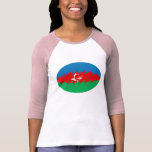 Azerbaijan Gnarly Flag T-Shirt