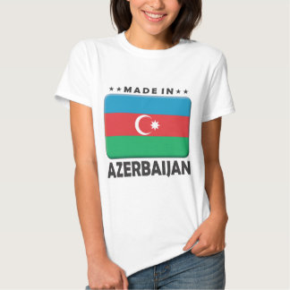 Azerbaijan hizo remera