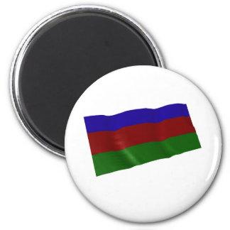 Azerbaijan Imán Redondo 5 Cm